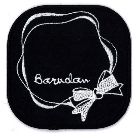 Embroidered Emblem-Coaster